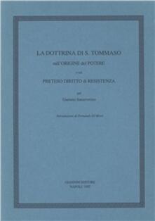 Listadelpopolo.it La dottrina di s. Tommaso sull'origine del potere e sul preteso diritto di resistenza Image