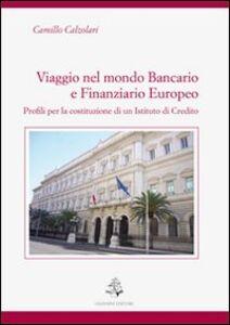 Viaggio nel mondo bancario e finanziario europeo. Profili per la costituzione di un istituto di credito