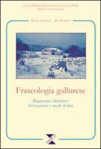 Fraseologia gallurese. Repertorio alfabetico di locuzioni e modi di dire