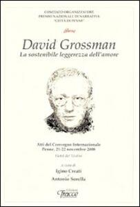 David Grossman. La sostenibile leggenda dell'amore