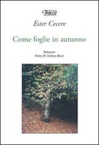 Come foglie in autunno