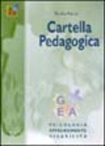 Cartella pedagogica