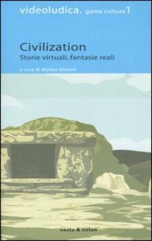 Civilization. Storie virtuali, fantasie reali - copertina