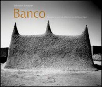 Banco. Mosquées en terre du delta intérieur du fleuve niger