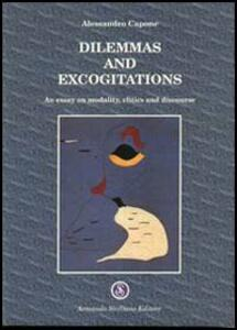 Dilemmas and excogitations. An essay on modality, clitics and discourse