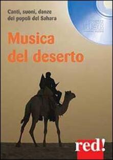 3tsportingclub.it Musica del deserto. Canti, suoni, danze dei popoli del Sahara. CD Audio Image