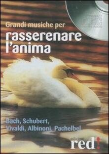 Squillogame.it Grandi musiche per rasserenare l'anima. Bach, Schubert, Vivaldi, Albinoni, Pachelbel. CD Audio Image
