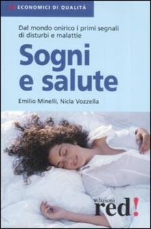 Sogni e salute - Emilio Minelli,Nicla Vozzella - copertina