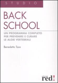 Listadelpopolo.it Back school. Un programma completo per prevenire e curare le algie vertebrali Image