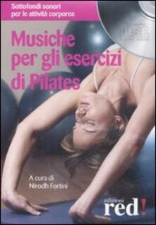 Osteriacasadimare.it Musiche per gli esercizi di Pilates. CD Audio Image