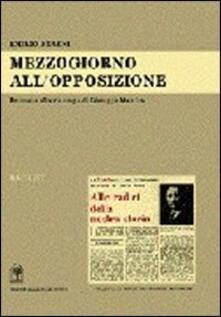 Mezzogiorno all'opposizione