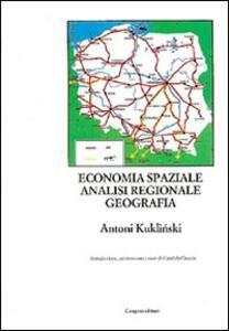 Economia spaziale, analisi regionale, geografia