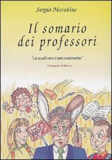 Parcoarenas.it Il somario dei professori Image