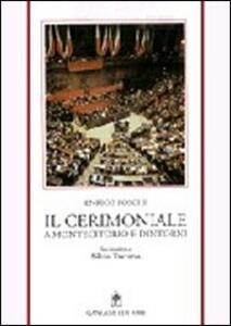 Il cerimoniale a Montecitorio e dintorni