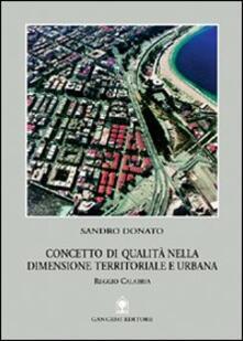 Winniearcher.com Concetto di qualità nella dimensione territoriale e urbana. Reggio Calabria Image