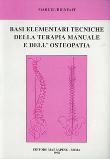 Listadelpopolo.it Basi elementari tecniche della terapia manuale e dell'osteopatia Image