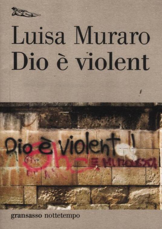 Dio è violent - Luisa Muraro - copertina