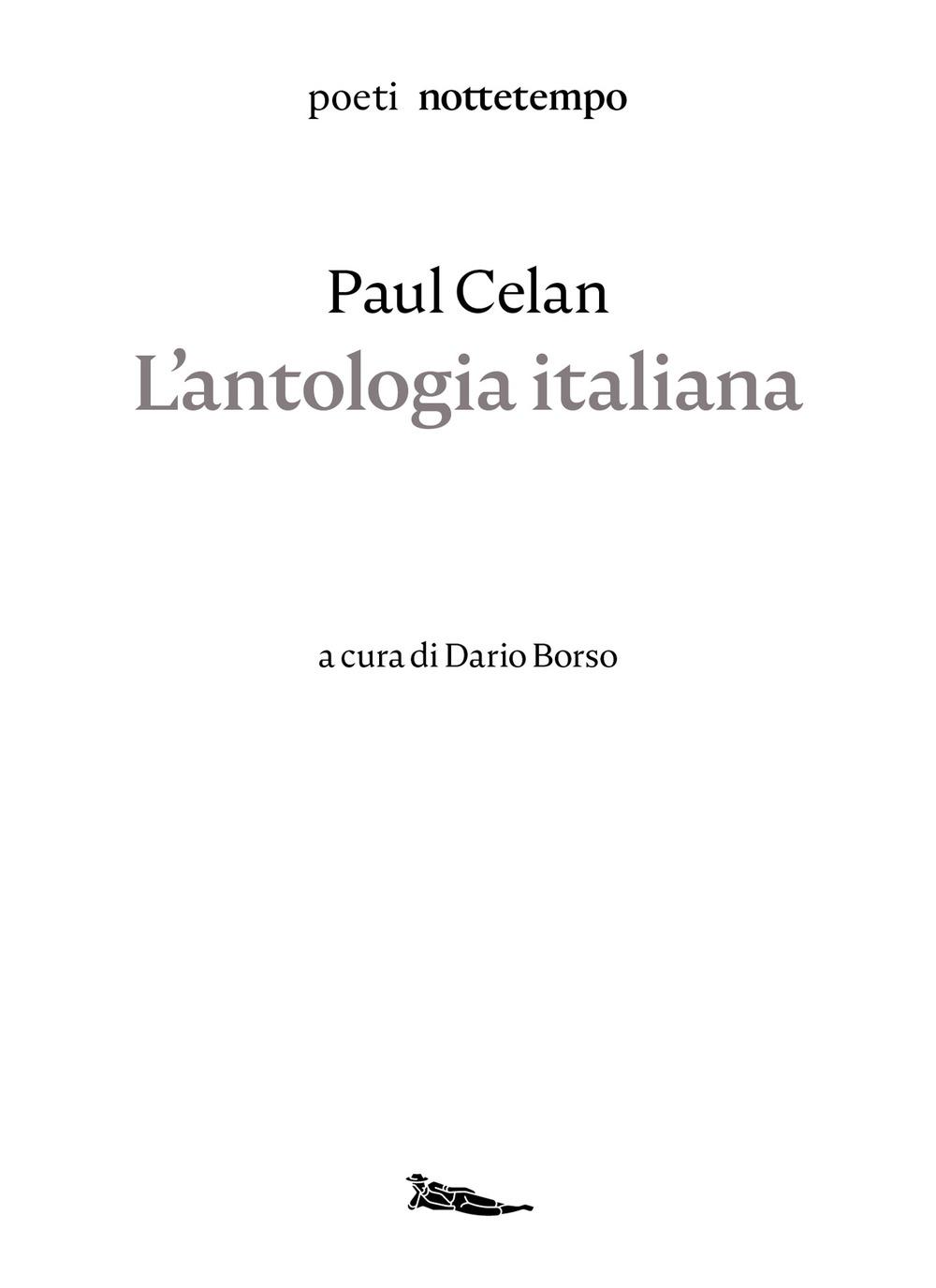 Image of L' antologia italiana