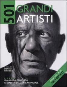 Steamcon.it Cinquecentouno grandi artisti. Una guida completa ai maestri dell'arte mondiale Image
