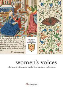 Voci di donne. Luniverso femminile nelle raccolte laurenziane. Catalogo della mostra (Firenze, 9 marzo-29 giugno 2018). Ediz. inglese.pdf