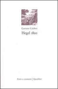Hegel 1820