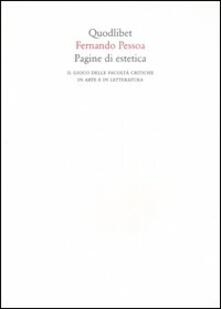 Pagine di estetica. Il gioco delle facoltà critiche in arte e letteratura.pdf