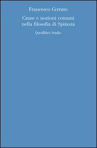 Cause e nozioni comuni nella filosofia di Spinoza