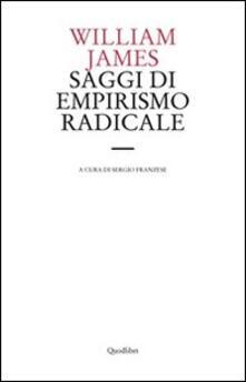 Ascotcamogli.it Saggi di empirismo radicale Image