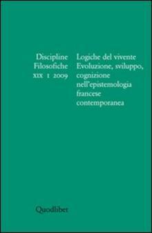 Charun.it Discipline filosofiche (2009). Vol. 1: Logiche del vivente. Image