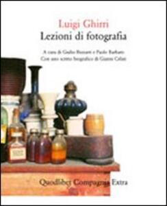 Lezioni di fotografia - Luigi Ghirri - copertina