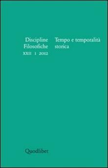 Antondemarirreguera.es Discipline filosofiche (2012). Vol. 1: Tempo e temporalità storica. Image