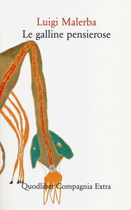 Le galline pensierose - Luigi Malerba - copertina