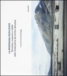 Vitalitart.it La montagna resiliente. Sicurezza, coesione e vitalità nella ricostruzione dei territori abruzzesi Image