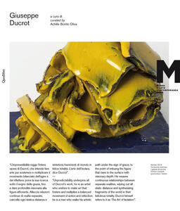 Giuseppe Ducrot. Catalogo della mostra (Roma, 20 febbraio-10 maggio 2015). Ediz. italiana e inglese - copertina