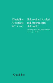 Laboratorioprovematerialilct.it Discipline filosofiche (2015). Ediz. multilingue. Vol. 1: Philosophical analysis and experimental philosophy. Image