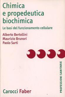 Chimica e propedeutica biochimica. Le basi del funzionamento cellulare.pdf