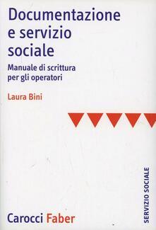 Premioquesti.it Documentazione e servizio sociale. Manuale di scrittura per gli operatori Image