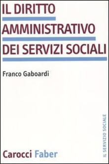 Ipabsantonioabatetrino.it Il diritto amministrativo dei servizi sociali Image