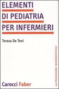 Elementi di pediatria per infermieri