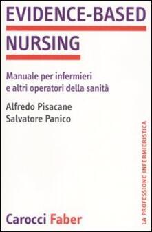 Mercatinidinataletorino.it Evidence-based nursing. Manuale per infermieri e altri operatori della sanità Image
