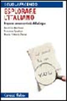 Promoartpalermo.it Esplorare l'italiano. Proposte per un curricolo della lingua Image