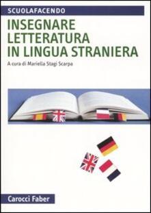 Ilmeglio-delweb.it Insegnare letteratura in lingua straniera Image