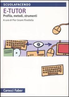 Camfeed.it E-tutor. Profilo, metodi e strumenti Image