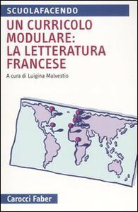 Un curricolo modulare: la letteratura francese