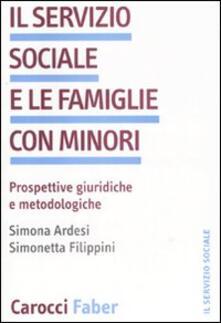Promoartpalermo.it Il servizio sociale e le famiglie con minori. Prospettive giuridiche we metodologiche Image