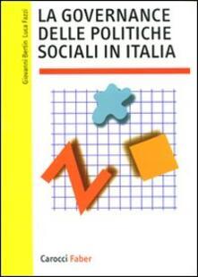 Steamcon.it La governance delle politiche sociali in Italia Image