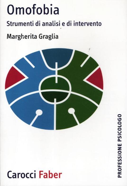 Omofobia. Strumenti di analisi e di intervento - Margherita Graglia - copertina