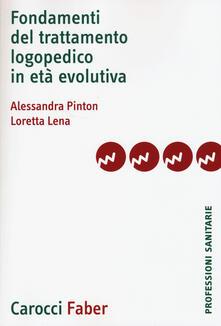 Festivalpatudocanario.es Fondamenti del trattamento logopedico in età evolutiva Image