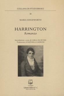 Harrington - Maria Edgeworth - copertina