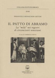 Il patto di Abramo. La «milà» nei registri di circoncisori veneziani